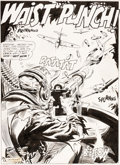 Original Comic Art:Splash Pages, Joe Kubert Star Spangled War Stories #58 Splash Page 1 Original Art (DC, 1957)....