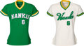 Basketball Collectibles:Uniforms, 1974 Wes Parker Game Worn Nankai Hawks (Japan Pacific League) Jerseys Lot of 2.... (Total: 2 items)