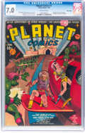 Golden Age (1938-1955):Science Fiction, Planet Comics #1 Billy Wright Pedigree (Fiction House, 1940) CGC FN/VF 7.0 Off-white pages....