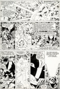 Original Comic Art:Panel Pages, George Pérez and Terry Austin X-Men Annual #3 Page 43 Original Art (Marvel, 1979)....
