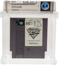 Video Games:Nintendo, Nintendo World Championships 1990 Gray (NES, Nintendo, 1990) Wata 5.5 (Loose) Cartridge #260....