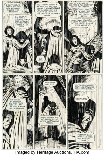 Original Comic Art:Panel Pages, Dave Sim Cerebus #17 Story Page 14 Original Art(Aardvark-Vanaheim, 1980)....