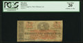 Obsoletes By State:Louisiana, New Orleans, LA- James Cosgrove payable at Mechanics' and Traders' Bank $1 Dec. 21, 1861 PCGS Very Fine 20.. ...