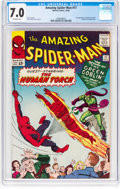 Silver Age (1956-1969):Superhero, The Amazing Spider-Man #17 (Marvel, 1964) CGC FN/VF 7.0 Off-whitepages....