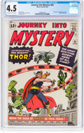 Silver Age (1956-1969):Superhero, Journey Into Mystery #83 (Marvel, 1962) CGC VG+ 4.5 Off-wh...