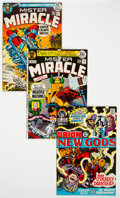 Bronze Age (1970-1979):Superhero, Mister Miracle Group of 10 (DC, 1970s) Condition: Average NM-....