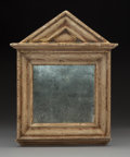 Sculpture, Robert Kulicke (American, 1924-2007). Untitled, 1990. Gilded frame with antique mirror. 12 x 9-1/2 inches (30.5 x 24.1 c...