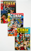 Bronze Age (1970-1979):Adventure, Conan the Barbarian Group of 16 (Marvel, 1970-72) Condition: Average VF/NM.... (Total: 16 Comic Books)