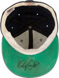 Baseball Collectibles:Hats, 1980's Kirby Puckett Game Worn & Signed Minnesota Twins Cap. ...