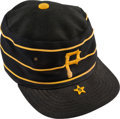 Baseball Collectibles:Hats, Circa 1985 Willie Stargell Game Worn Pittsburgh Pirates Cap....