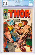 Silver Age (1956-1969):Superhero, Thor #126 (Marvel, 1966) CGC VF- 7.5 Off-white to white pages....