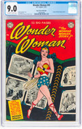 Golden Age (1938-1955):Superhero, Wonder Woman #45 Mile High Pedigree (DC, 1951) CGC VF/NM 9.0 Off-white to white pages....