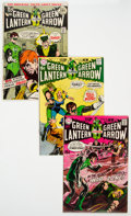 Silver Age (1956-1969):Superhero, Green Lantern Group of 8 (DC, 1970-72) Condition: Average VF....
