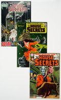 Bronze Age (1970-1979):Horror, House of Secrets Group of 10 (DC, 1970-76) Condition: AverageVF....