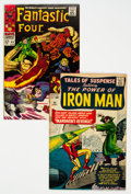 Silver Age (1956-1969):Superhero, Marvel Silver Age Superhero Group of 2 (Marvel, 1964-67) Condition:Average VF....