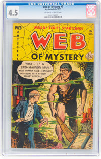 Web of Mystery #5 (Ace, 1951) CGC VG+ 4.5 Off-white to white pages