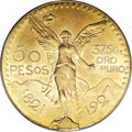 Mexico, Mexico: Republic gold 50 Pesos 1927,...