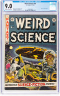 Golden Age (1938-1955):Science Fiction, Weird Science #16 (EC, 1952) CGC VF/NM 9.0 Off-white to white pages....