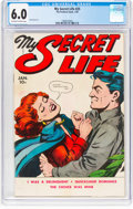 Golden Age (1938-1955):Romance, My Secret Life #25 (Fox Features Syndicate, 1950) CGC FN 6.0Off-white to white pages....