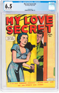 Golden Age (1938-1955):Romance, My Love Secret #25 (Fox Features Syndicate, 1949) CGC FN+ 6.5 Creamto off-white pages....