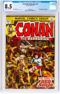 Bronze Age (1970-1979):Superhero, Conan the Barbarian #24 (Marvel, 1973) CGC VF+ 8.5 Off-white to white pages....