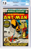 Bronze Age (1970-1979):Adventure, Marvel Feature #4 Ant-Man (Marvel, 1972) CGC FN/VF 7.0 Off-white to white pages....