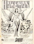 """Original Comic Art:Complete Story, Murphy Anderson Hawkman #4 Zatanna First Appearance Complete 13-Page Story """"The Girl Who Split In Two!"""" Original A... (Total: 13 Original Art)"""