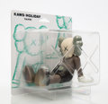 Collectible:Contemporary, KAWS (b. 1974). Holiday: Taipei (Brown), 2019. Painted cast vinyl. 5-1/2 x 7 x 5-1/2 inches (14 x 17.8 x 14 cm). Stamped...