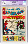 Silver Age (1956-1969):Superhero, The Amazing Spider-Man #13 (Marvel, 1964) CGC Qualified VF+ 8.5Off-white to white pages....