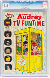 Little Audrey TV Funtime #4 File Copy (Harvey, 1963) CGC NM+ 9.6 Cream to off-white pages