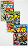Bronze Age (1970-1979):Superhero, Marvel Premiere #17 and 19-25 Iron Fist Group (Marvel, 1974-75)Condition: Average NM-....