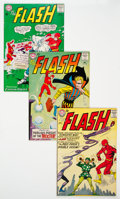 Silver Age (1956-1969):Superhero, The Flash Group of 6 (DC, 1963-67) Condition: Average FN....