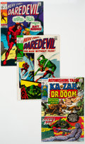 Silver Age (1956-1969):Superhero, Marvel Silver to Bronze Age Superhero Group of 4 (Marvel,1960s-70s) Condition: Average VF/NM....