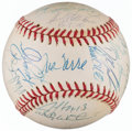 Autographs:Baseballs, 1996 New York Yankees - World Series Champs - Team Signed Baseball (31 Signatures)....