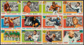 Football Cards:Sets, 1955 Topps All-American Football Near Set (85/100). ...