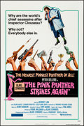 Movie Posters:Comedy, The Pink Panther Strikes Again & Other Lot (United Artists...