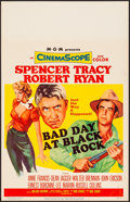 "Movie Posters:Thriller, Bad Day at Black Rock (MGM, 1955). Very Fine+. Window Card (14"" X 22""). Thriller.. ..."