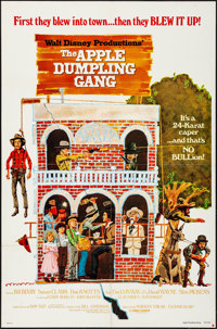 """The Apple Dumpling Gang & Other Lot (Buena Vista, 1975). Folded, Very Fine-. One Sheets (2) (27"""" X 41"""") Pa..."""