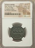 Ancients:Roman Imperial, Ancients: Septimius Severus (AD 193-211). AE as (26mm, 10.68 gm,7h). NGC Choice Fine 5/5 - 4/5....