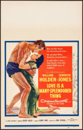 Movie Posters:Drama, Love is a Many-Splendored Thing & Other Lot (20th Century ...