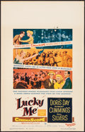 """Movie Posters:Musical, Lucky Me & Other Lot (Warner Brothers, 1954). Very Fine. Window Cards (2) (14"""" X 22""""). Musical.. ... (Total: 2 Items)"""