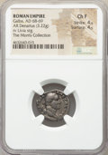 Ancients:Roman Imperial, Ancients: Galba (AD 68-69). AR denarius (18mm, 3.22 gm, 7h). NGC Choice Fine 4/5 - 4/5....
