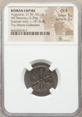 Ancients:Roman Imperial, Ancients: Augustus (27 BC-AD 14). AR denarius (19mm, 3.39 gm, 4h).NGC Choice Fine 5/5 - 2/5....