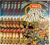 Wham-O Giant Comics #1 Group of 7 with Promotional Materials (Wham-O, 1967)