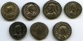 Ancients:Ancient Lots , Ancients: ANCIENT LOTS. Roman Imperial. Probus (AD 276-282). Lot of seven (7) AE antoniniani. Fine-XF, Silvering.... (Total: 7 coins)