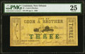 Obsoletes By State:Louisiana, New Orleans, LA- Cook & Brother $3 Mar. 15, 1862 PMG Very Fine 25.. ...