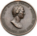 Militaria:Insignia, London Highland Society Sir Ralph Abercromby Bronze Medal, Commemorating His Victory at the Battle of Alexandria, Egypt 1801....