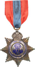 Militaria:Insignia, British Edward VII Imperial Service Medal in the Case of Issue.. ...