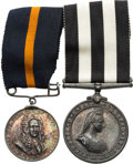 Militaria:Insignia, British Service Medal Pair: The Order of St. John and Guy's Hospital Service Awards.. ... (Total: 2 Items)