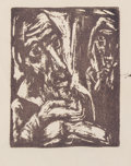 Prints & Multiples:Print, Boris Deutsch (American, 1892-1978). Group of Three Prints, 1935-69. Woodcuts on paper (2); etching in colors on paper (...
